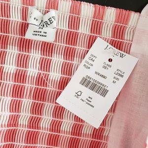 J. Crew Dresses - NWT J. Crew pink gingham dress